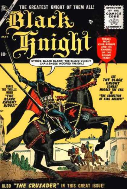Black Knight 1 - Richard Buckler, Tony DeZuniga
