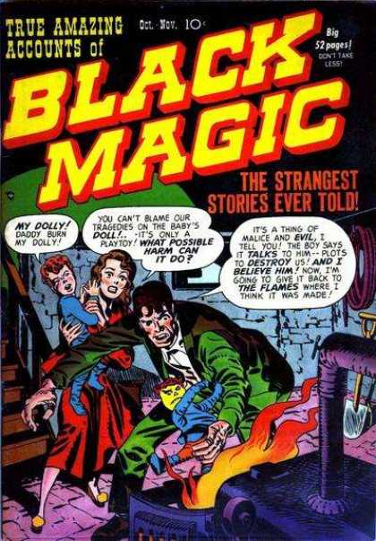 Black Magic 1 - The Strangest Stories Ever Told - Dolly - Destroy - The Flames - Evil