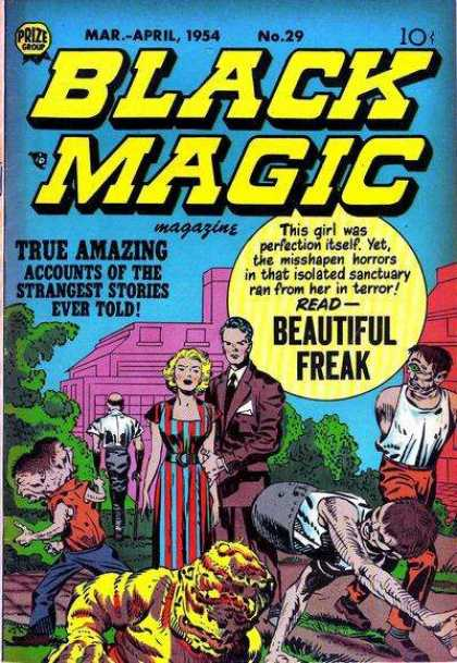 Black Magic 29 - Beautiful Freak - True Amazing Accounts Of Strangest Stories - Two-headed Monster - Couple - Suit