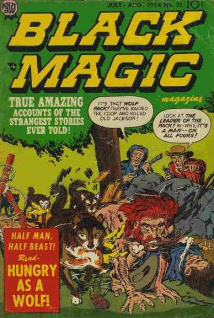 Black Magic 31 - Prize - Tree - Cap - July-aug - Hungry As A Wolf - Jack Kirby