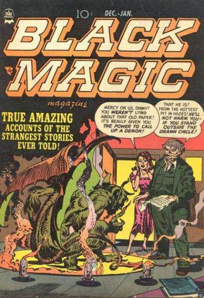 Black Magic 8 - Dec-jan - Magazine - Paper - True Amazing - The Power To Call Up A Demon