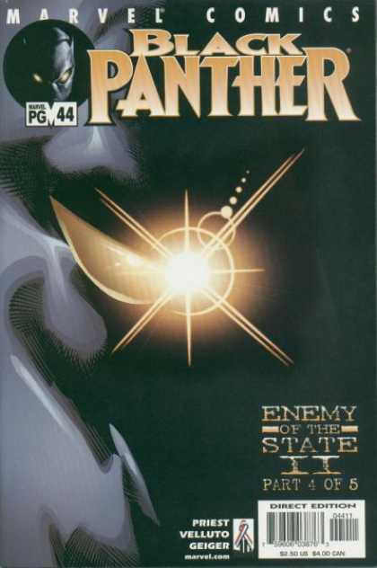 Black Panther (1998) 44 - Marvel Comics - Enemy Of The State - Priest - Velluto - Direct Edition