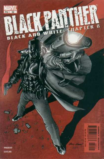 Black Panther (1998) 52 - Marvel - Gun - Black And White - Chapter 2 - Black Suit - Andy Kubert, Jose Jimenez-Momediano