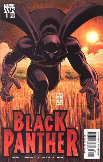 Black Panther (2005) 1 - Action - Africa - Man - Hero Villan - Dark - John Romita