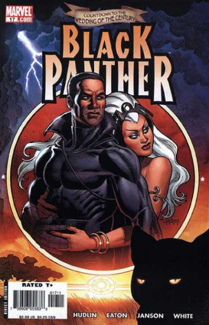 Black Panther (2005) 17 - Marvel - Wedding Of The Century - Rated T - Hudlin - Janson - Joseph Linsner