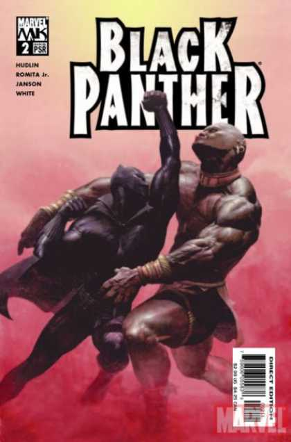 Black Panther (2005) 2 - Muscles - Marvel - Smoky - Uppercut - Ko - Esad Ribic