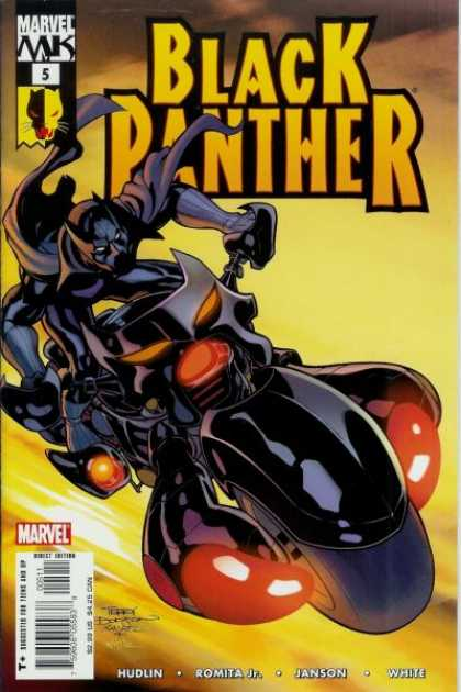 Black Panther (2005) 5 - Terry Dodson
