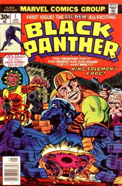 Black Panther 1 - Jack Kirby