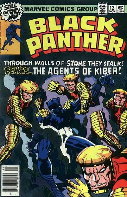 Black Panther 12 - Jack Kirby
