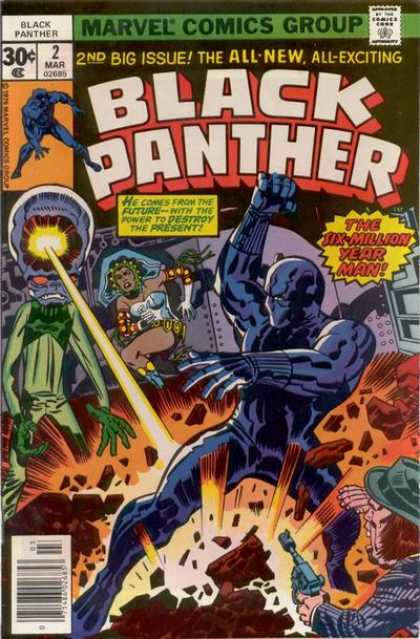 Black Panther 2 - Lazers - Aliens - Explosion - Super Human - Time Travel - Jack Kirby