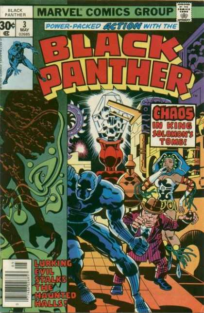 Black Panther 3 - Marvel - Power-packed - Action - Chaos - King Solomons - Jack Kirby
