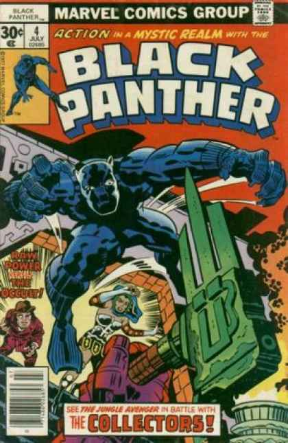 Black Panther 4 - Jack Kirby