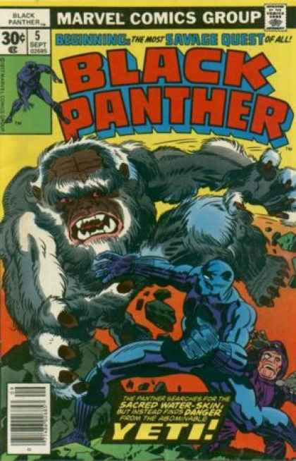 Black Panther 5 - Jack Kirby