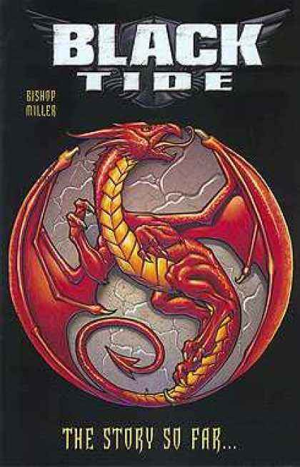 Black Tide 1 - Red Dragon - The Story So Far - Wings - Tale - Claws - Mike Miller, Rick Ketcham