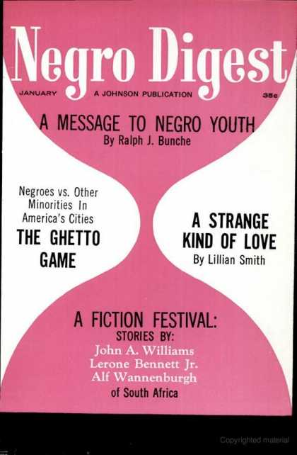 Black World - January 1963
