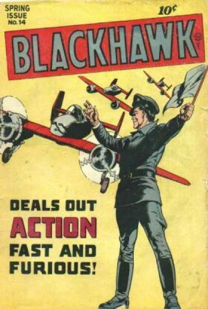Blackhawk 14 - Ww2 - War - Army - Planes - Soldier