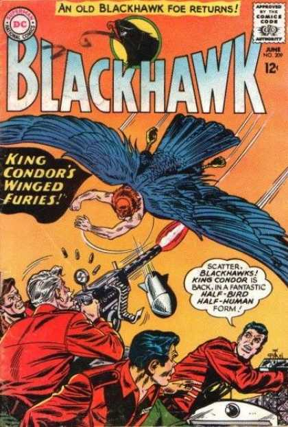 Blackhawk 209 - Half-bird - King Condor - Fight - Half-man - Dc Comics