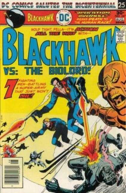 Blackhawk 247 - Men - Guns - Battle - Dead - Die - Dick Giordano