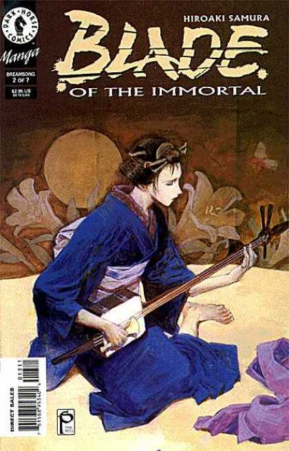 Blade of the Immortal 13 - Guitar - Women - Flower - Costume - Serial Number