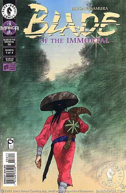 Blade of the Immortal 58 - Hiroaki Samura - Sowrd - Hat - Walk - Forest