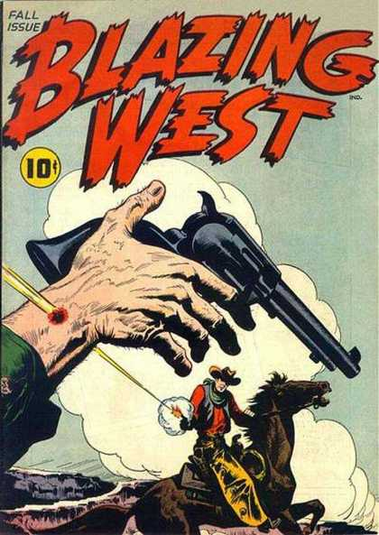 Blazing West 1 - Wild West - West - Guns - Horse - Shooting