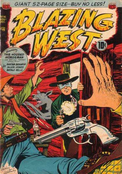 Blazing West 14 - Blazing West - Hooded Horseman - Shootout Comix - Gunsmoke - Masked Cowboy