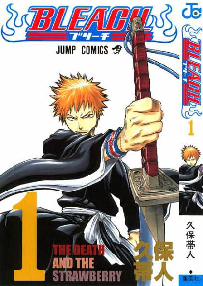 Bleach 1 - Number 1 - Sword - Death - The Strawberry - Fighter