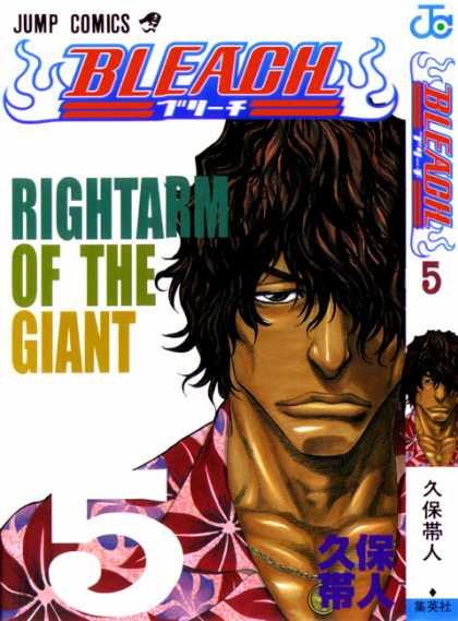 Bleach 5 - Jump Comics - Right Arm Of The Giant - Hawaiian Shirt - Shaggy Hair - Dark Complexion