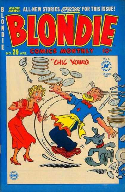 Blondie Comics Monthly 14