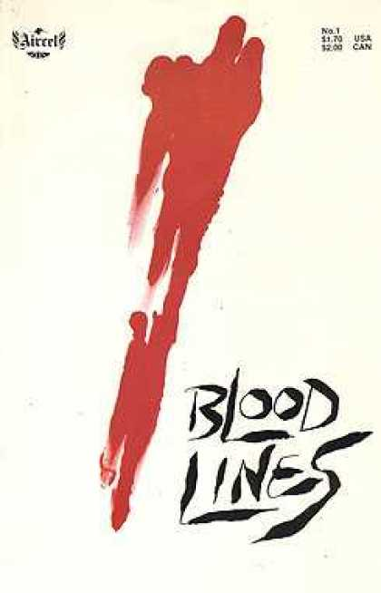 Bloodlines 1 - No 1 - Red - Blood - Airel - White