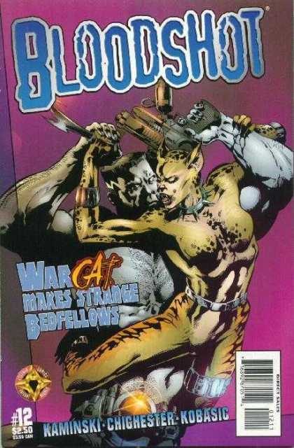 Bloodshot (1997) 12 - 12 - War - Makes Strange Bedfellows - Kobasic - Kaminski