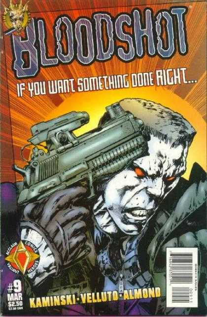 Bloodshot (1997) 9 - Kaminski - Almond - Gun - Something - Done Right