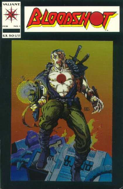 Bloodshot 1 - Barry Windsor-Smith