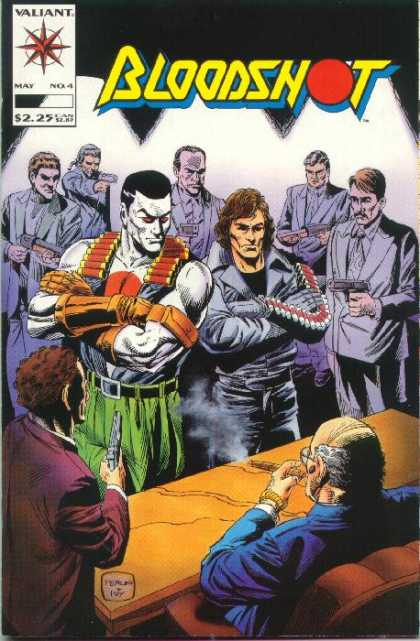 Bloodshot 4 - Valiant - May - Men - Cigar - Guns