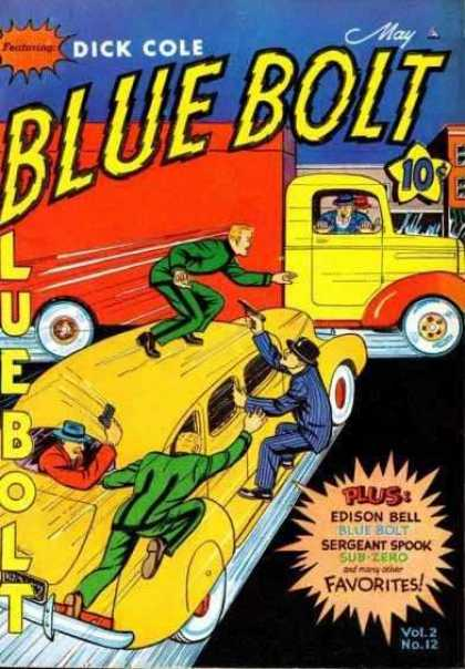 Blue Bolt 24 - Dick Cole - Car - Edison Bell - Sub-zero - Sergeant Spook