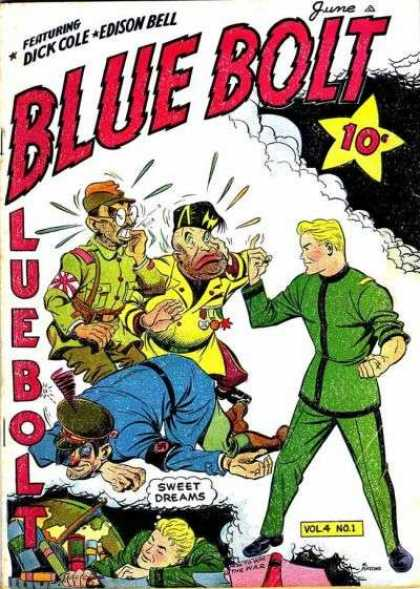 Blue Bolt 37 - Sweet Dreams - Authority - Commanding - Sweating - Worry