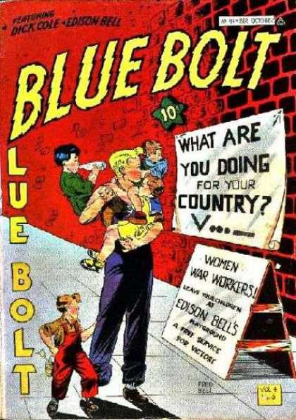 Blue Bolt 39 - Cole - Country - Children - Women - War Workers