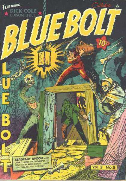 Blue Bolt 5 - Dick Cole - Sergeant Spook - Edison Bell - October - Vol3 No5