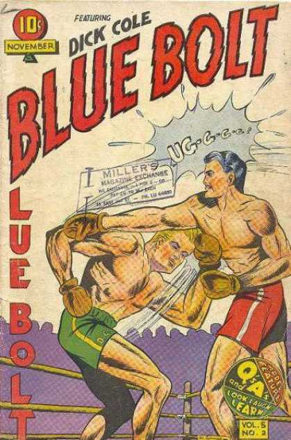 Blue Bolt 50 - Dick Cole - Battle - Box - Men - November