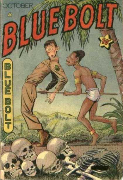 Blue Bolt 60 - Army - Deserted Island - Tribe - Paltoon - Prisoner