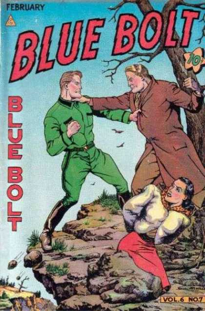 Blue Bolt 63 - Blue Bolt - Fighting - February - Volume 6 - Number 7