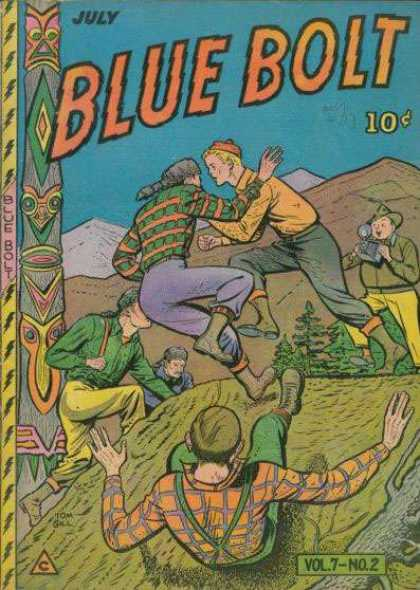 Blue Bolt 68 - July - Blue Bolt - Vol 7 - No 2 - Totem Pole