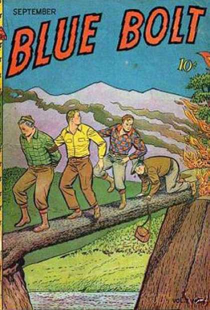 Blue Bolt 70 - September - Blue - Dime - Bolt - Log