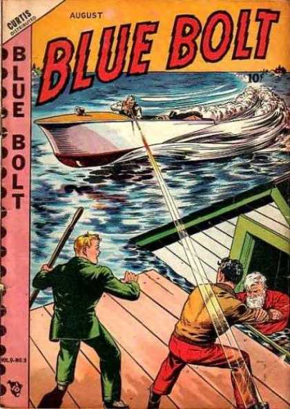 Blue Bolt 93 - Flood - Water - Boat - Ray - Saving Old Man