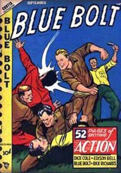 Blue Bolt 94 - Dick Cole - Edison Bell - Blue Bolt - Rick Richards - Slap