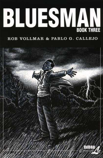Bluesman 3 - Rob Vollmar - Pablo G Callejo - Book Three - Lightning - Grass