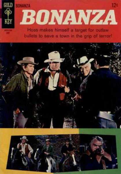 Bonanza 14 - Gold Key - Hoss Makes Himself A Target For Outlaw Bullets To Save A Town In The Grip Of Ter - Night - In The Forest - Horses