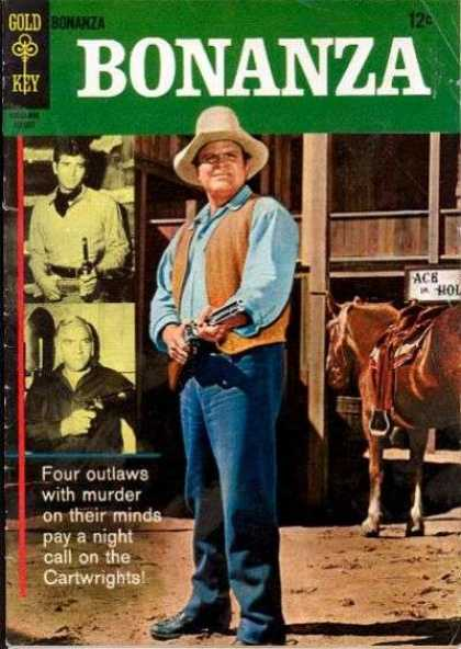 Bonanza 21 - Cowboys - Horse - Cartwrights - Four Outlaws - Murder