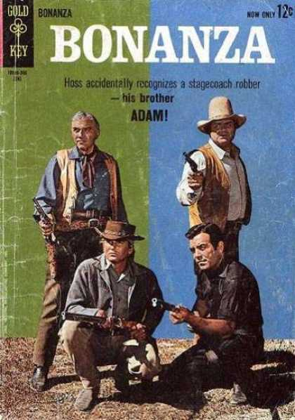 Bonanza 3 - Statecoach Robber - Hoss - Adam - Little Joe - Cowboys