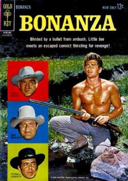 Bonanza 4 - Gun - Gun Man - Three Head - Thirsting - Revenge